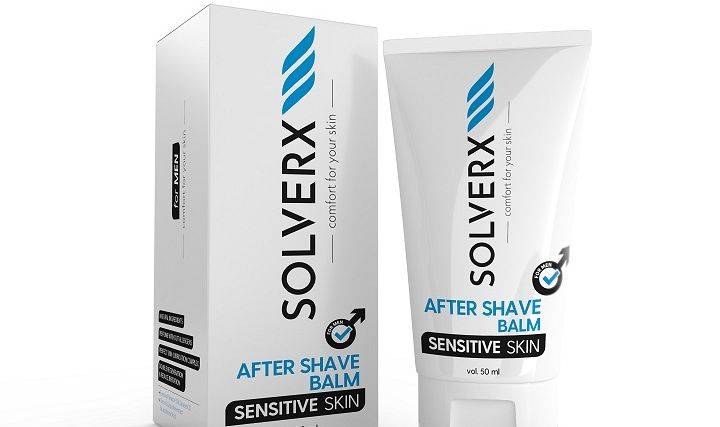 SOLVERX Sensitive Skin Man After Shave Balm